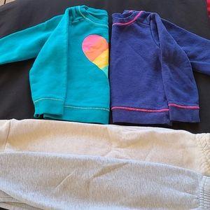 Toddler girls sweats/sweatshirts